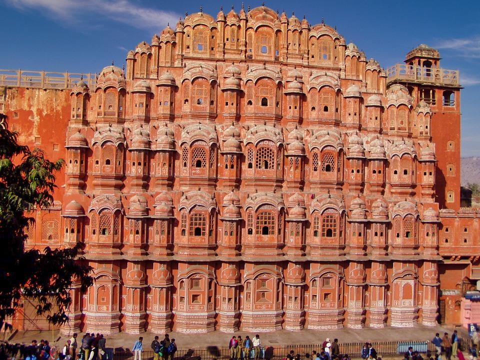 Pałac Wiatrów - Hawa Mahal - zadziwiający zabytek w Indiach